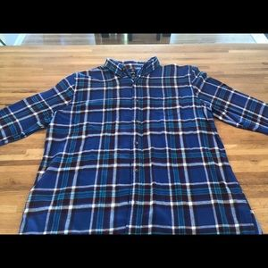 Chap's Men's Flannel Shirt Size 2XL